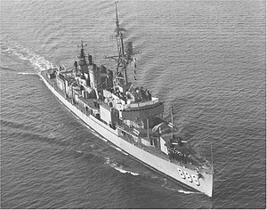 USS O'Hare (DD-889) underway in the Pacific Ocean, in 1966