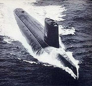 Nuclear radar picket submarine in service 1959 – 1969