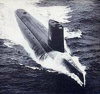 USS Triton (SSRN-586) - Image: USS Triton SSRN 586 Anaconda ad