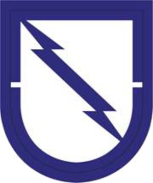 507th Parachute Infantry Regiment (United States) - Image: US Army 1st BN 507th Inf Reg Flash