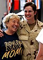 US Navy 040727-N-5576W-009 Naval Reservist Hospital Corpsman 2nd Class Ilisa Kleifield hugs her mom, prior to departing Naval Station Great Lakes for the Middle East.jpg