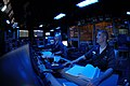 US Navy 050807-N-3136P-011 Operations Specialist 1st Class Jason Madott of Los Angeles, Calif., stands watch as Tactical Action Officer Assistant (TAOA) in the Combat Direction Center.jpg