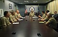 US Navy 060414-N-2383B-013 Chief of Naval Operations (CNO) Adm. Mike Mullen meets with officers that will assume command of half the U.S.-led Provincial Reconstruction Teams (PRT) in Afghanistan.jpg