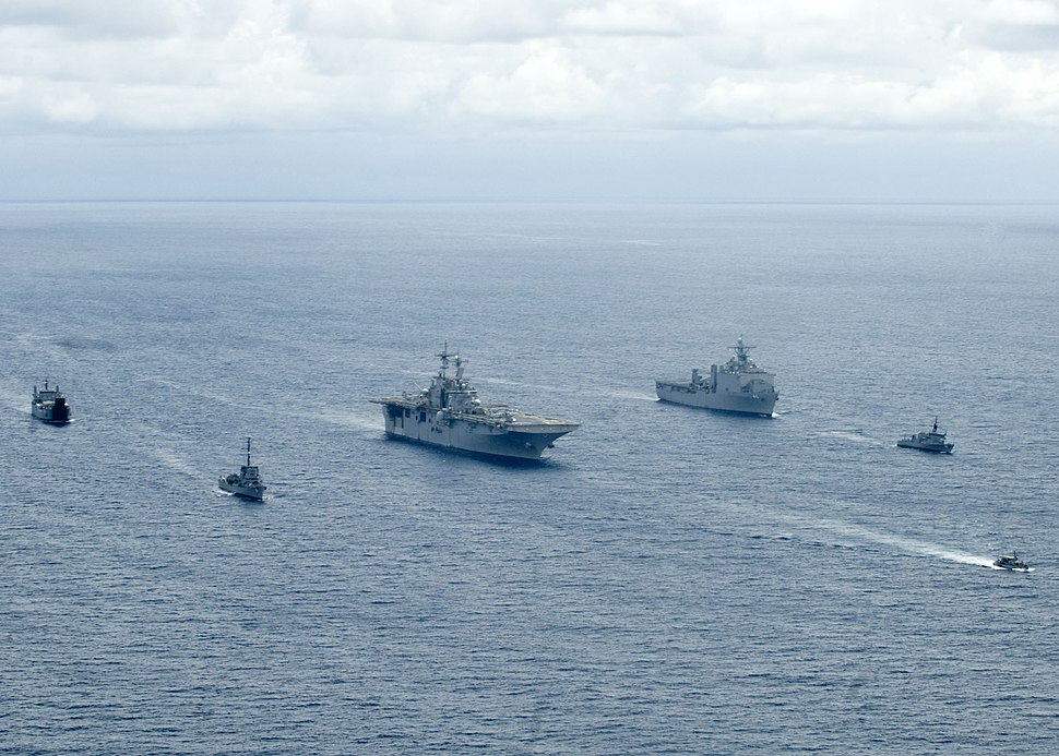 US Navy 090421-N-9950J-022 U.S. Navy and Armed Forces of the Philippines Navy ships are underway during exercise Balikatan 2009