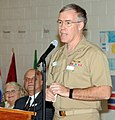 US Navy 091112-N-9909Y-002 Rear Adm. Don Quinn speaks during an Excellence Partnership Charter signing ceremony.jpg