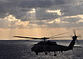US Navy 091118-N-2013O-183 n SH-60B Sea Hawk helicopter conducts flight operations over the Pacific Ocean.jpg