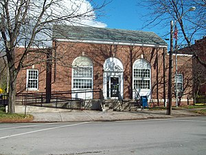Fredonia, New York - Post Office, Fredonia, NY