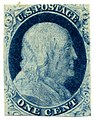 US stamp 1851 1c Franklin.jpg