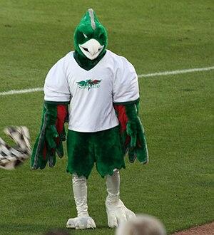 Green Bay Phoenix - Mascot in 2010