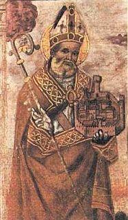 Ubald Italian bishop-saint