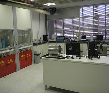 One of the laboratories in materials science from UFABC. - Universidade Federal do ABC