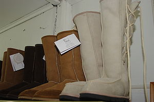 Uggs boots being manufactured in Australia at ...