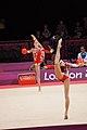 Ukraine Rhythmic gymnastics at the 2012 Summer Olympics (7915628802).jpg