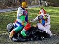 """Ulm Kunstpfad """"Adam und Eva"""" von Niki de Saint Phalle 2019 03 03.jpg"""