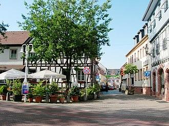 Groß-Umstadt - The historic winebar Brücke-Ohl.