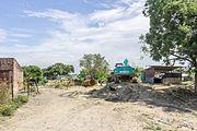 Under construction bridge at Janakpur for new railway track-20160923-IMG 7916.jpg