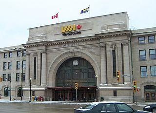 Union Station (Winnipeg) railway station in Winnipeg, Canada