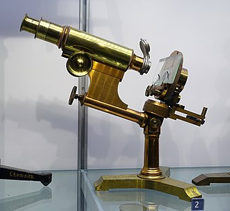 Bausch & Lomb - Image: Universal Microscope, Bausch and Lomb, c. 1890 Museum of Science and Industry (Chicago) DSC06400