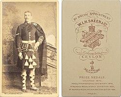 Unknown portrait of Scottish soldier by W L H Skeen, Colombo, Ceylon, from mystery album (4354371004).jpg