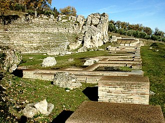 Archaeological Park of Urbs Salvia - Roman theatre of Urbs Salvia