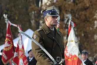 Representative Honor Guard Regiment of the Polish Armed Forces - Lieutenant Colonel Wojciech Erbel in 2012.