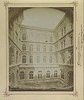 Váci utca 62-64., a pesti Új Városháza udvari homlokzata (Steindl Imre 1870-75). 1878 körül - Budapest, Fortepan 82093.jpg