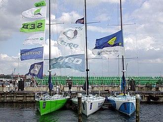2001–02 Volvo Ocean Race - Team SEB, Team Tyco and News Corp in Kiel
