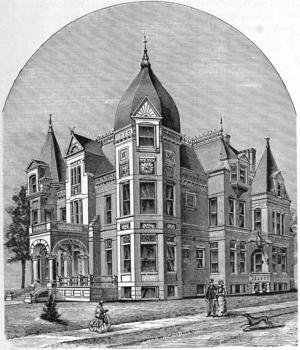 Valentin Blatz - Image: Val Blatz Residence 1886