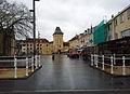 Valkenburg (L), Th Dorrenplein met gereconstrueerde Geulpoort, januari 2015-04.jpg