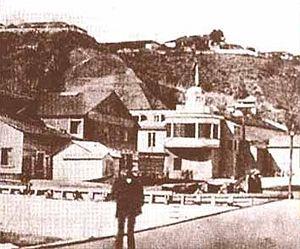 Valparaíso - Daguerreotype of Valparaíso about 1852