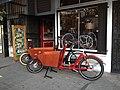 VanAndel Azor Bakfiets Cargo Bikes at Flying Pigeon LA bike shop (26375039234).jpg