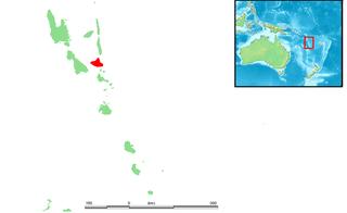 Ambrym volcanic island in the archipelago of Vanuatu
