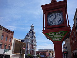 Downtown Van Wert
