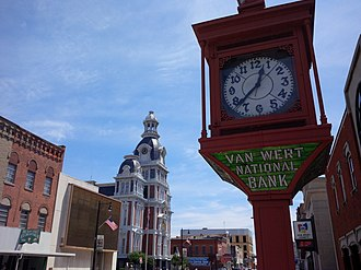 Van Wert, Ohio - Downtown Van Wert