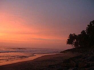 Varkala Beach - Sunset at Varkala Beach