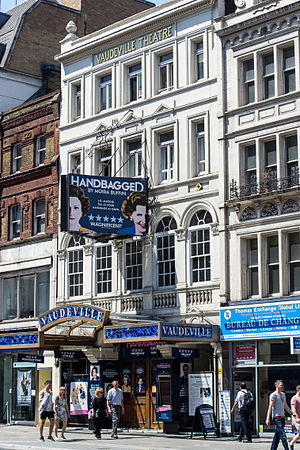 Vaudeville Theatre - The Vaudeville Theatre in 2014
