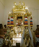 Golden chariot of the temple