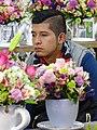 Vendor in Flower Market - Mercado de Jamaica - Mexico City - Mexico (37928524295).jpg