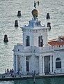 Venezia Blick vom Campanile der Basilica di San Marco auf die Punta Dogana 7.jpg
