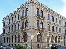 Wohn- und Geschäftshaus von Henri Hinrichsen und dem Musikverlag C. F. Peters (Quelle: Wikimedia)