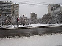 Skyline of Prospekt Vernadskogo縣