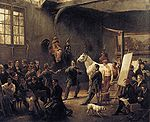Vernet, Horace - The Artist's Studio - c. 1820.jpg