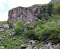 Vertical crag in Glen Elchaig - geograph.org.uk - 910994.jpg