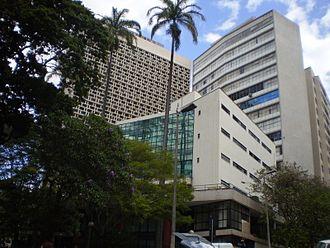 Faculdade de Direito da Universidade Federal de Minas Gerais - Complex of buildings that houses the School of Law, UFMG