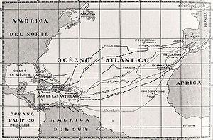 Los cuatro viajes de Cristóbal Colón