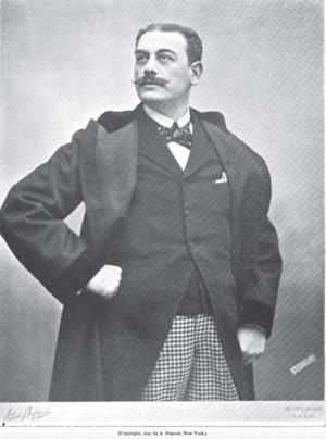 Victor Maurel - Victor Maurel, 1896