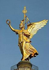 Estatua de la diosa Victoria