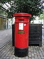 Victorian Pillar Box, Corporation Street, Manchester - geograph.org.uk - 1655702.jpg