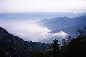 Alishan National Scenic Area - Dawn view from Alishan.