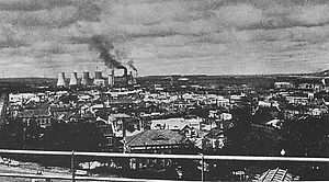 Fushun - Fushun Industrial Area in 1940